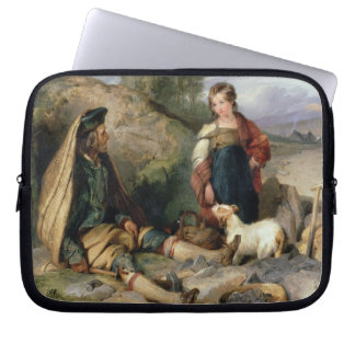 The Stone Breaker and his Daughter, 1830 Laptop Sleeve