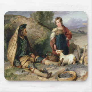 The Stone Breaker and his Daughter, 1830 Mouse Pad