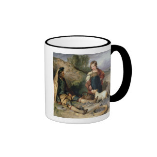 The Stone Breaker and his Daughter, 1830 Mug