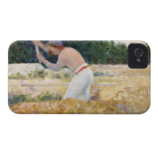 The Stone Breaker, c.1882 (oil on panel) Case-Mate iPhone 4 Case