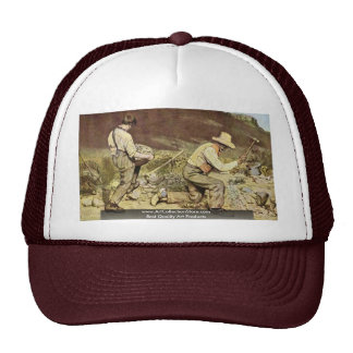 The Stone Breakers By Courbet Gustave Trucker Hats