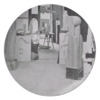 The Stone Carver's Workshop, from the Workshops of Dinner Plate