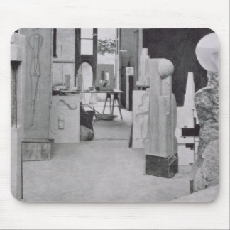The Stone Carver's Workshop, from the Workshops of Mouse Pad