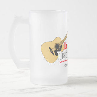 The Stone Country Band 16 Oz Frosted Glass Beer Mug