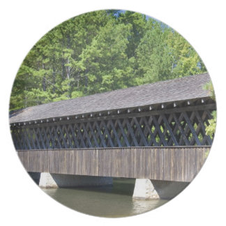 The Stone Mountain Covered Bridge at Stone Dinner Plate