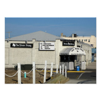 The Stone Pony in Asbury Park NJ Poster