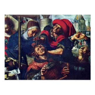 The Stonecutter By Hemessen Jan Sanders Van (Best Postcard