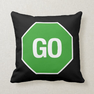 The Stop Go Pillow! Pillow