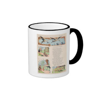 The Stork and the Fox from the Fables Coffee Mugs