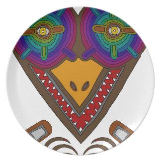 The Stork Melamine Plate