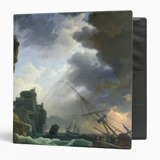 The Storm, 1777 3 Ring Binder