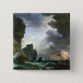 The Storm, 1777 Button
