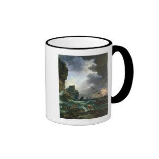 The Storm, 1777 Ringer Coffee Mug