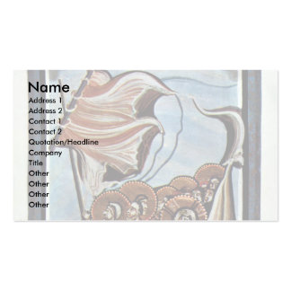 The Storm At Sea By Meister Des Hitda-Evangeliars Double-Sided Standard Business Cards (Pack Of 100)