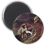 The Storm By Etty William (Best Quality) Fridge Magnets