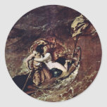 The Storm By Etty William (Best Quality) Round Stickers