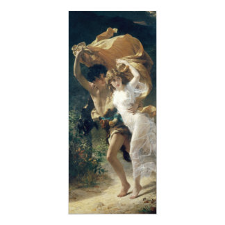 The Storm by Pierre Auguste Cot Card