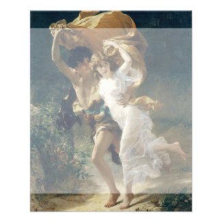 The Storm by Pierre Auguste Cot Flyer