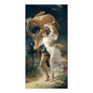 The Storm by Pierre Auguste Cot Photo Cards