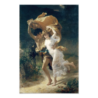 The Storm by Pierre Auguste Cot Photo Art