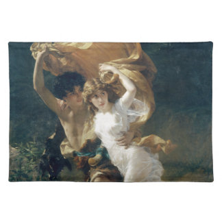The Storm by Pierre Auguste Cot Place Mats