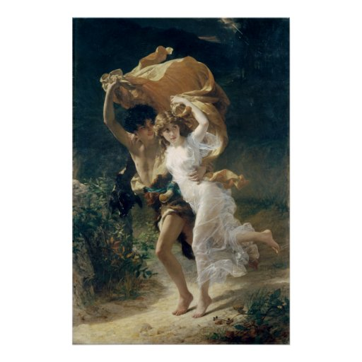 The Storm by Pierre Auguste Cot Posters