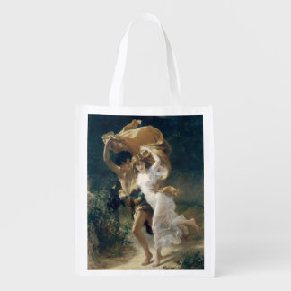 The Storm by Pierre Auguste Cot Reusable Grocery Bag