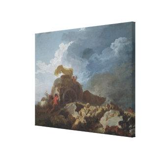 The Storm, c.1759 Canvas Print