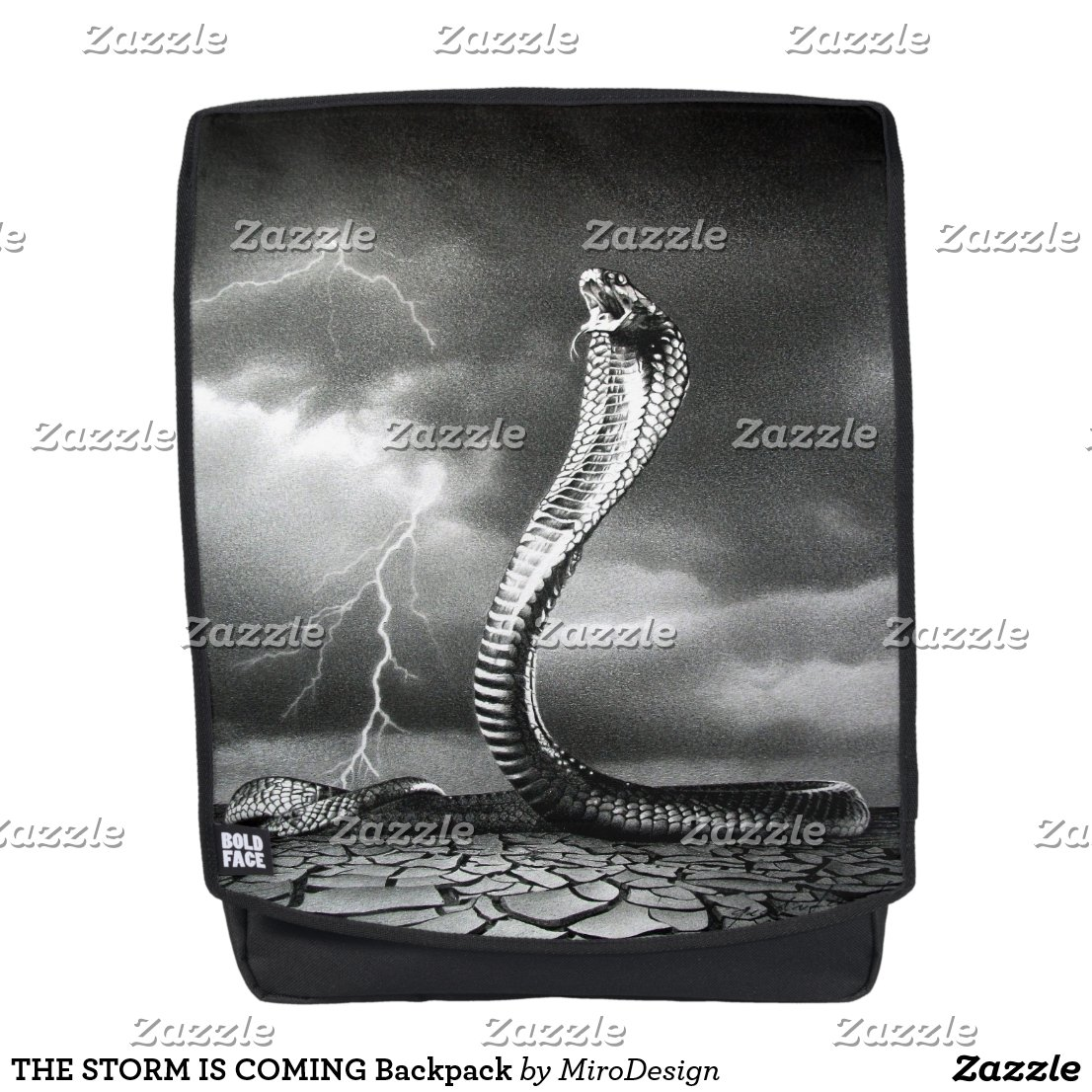 THE STORM IS COMING Backpack
