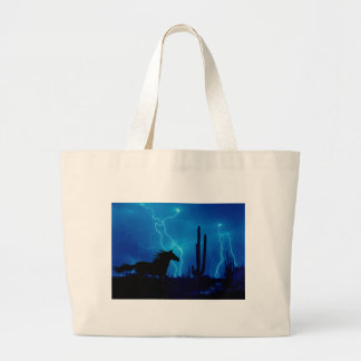 The Storm Large Tote Bag