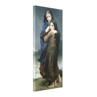 The Storm (L'Orage) by Bouguereau Canvas Print