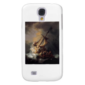 The-Storm-on-the-Sea-of-Galilee-by-Rembrandt-van-R Samsung Galaxy S4 Cover