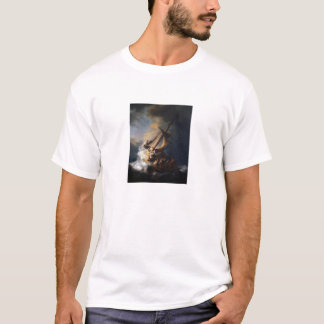 The Storm on the Sea of Galilee - Rembrandt T-Shirt