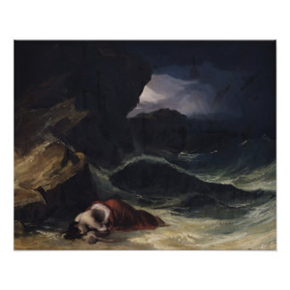 The Storm, or The Shipwreck Poster