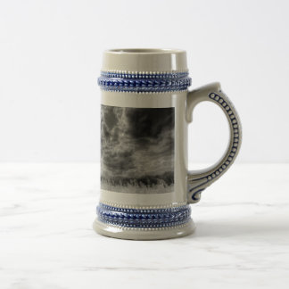 The Storm Over The Farm Beer Stein