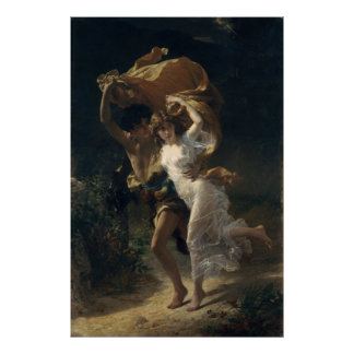 The Storm - Pierre-Auguste Cot Poster