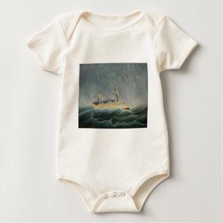 The Storm Tossed Vessel Baby Bodysuit