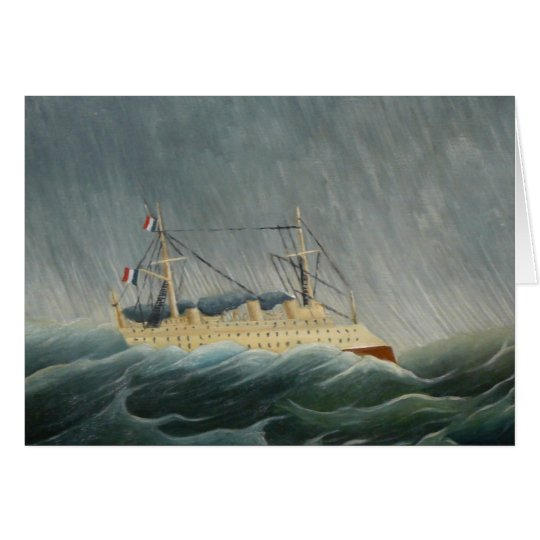 The Storm Tossed Vessel Card