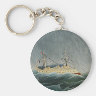 The Storm Tossed Vessel Keychain