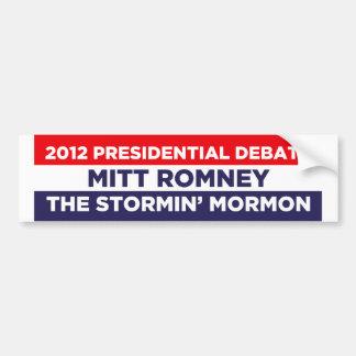 The Stormin Morman Bumper Sticker