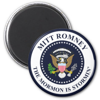 The Stormin' Mormon 2 Inch Round Magnet