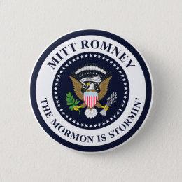 The Stormin' Mormon Pinback Button