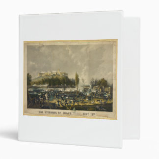 The Storming of Chapultepec Mexican American War 3 Ring Binder