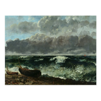 The Stormy Sea or, The Wave, 1870 Postcard