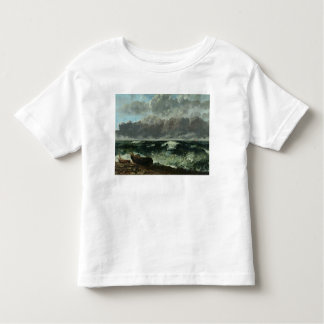 The Stormy Sea or, The Wave, 1870 Toddler T-shirt