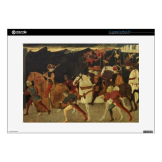 """The Story of Alatiel, on Horseback and at a Banque 15"""" Laptop Decals"""