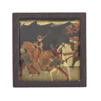 The Story of Alatiel, on Horseback and at a Banque Jewelry Box
