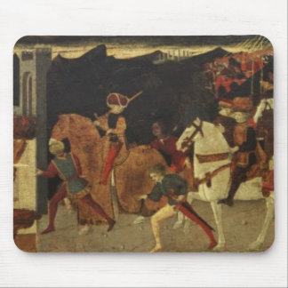 The Story of Alatiel, on Horseback and at a Banque Mouse Pad