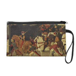The Story of Alatiel, on Horseback and at a Banque Wristlet Purse