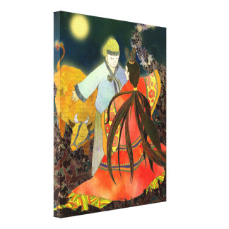 The Story of Chilseok in Korea Canvas Art (11x14) Stretched Canvas Prints